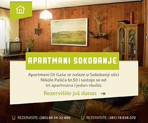 - Reklama Apartmani Sokobanje -